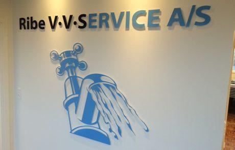 Logo på kontor