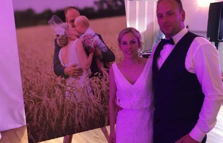 Bryllups billede